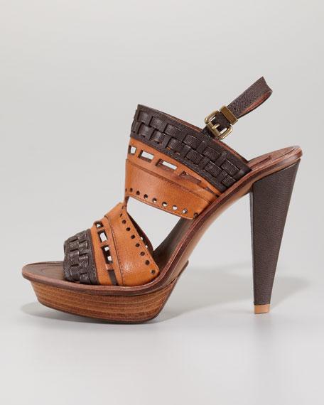 Hendrix Slingback Platform Sandal