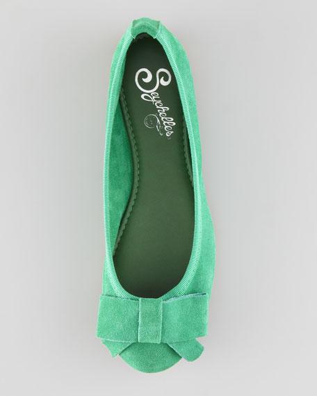 Bonsai Ballerina Flat, Green