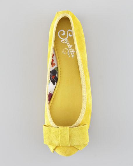 Bonsai Ballerina Flat, Yellow