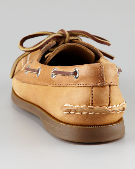 Authentic Nubuck Boat Shoe