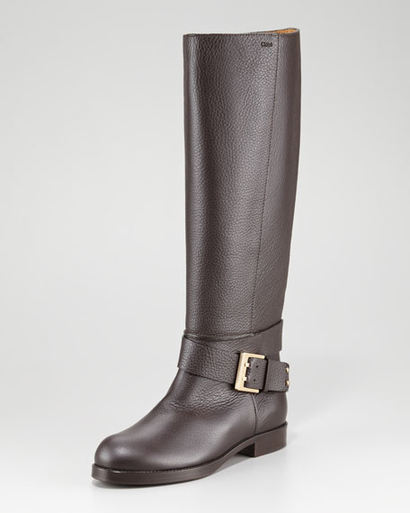 Ankle-Wrap Tall Boot