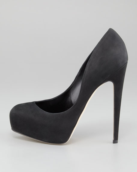New Maniac Suede Pump
