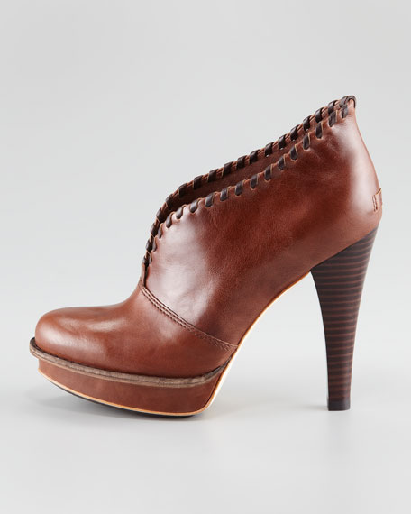 Jamison Leather Ankle Boot