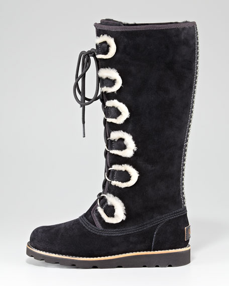 Rommy Tall Lace-Up Boot