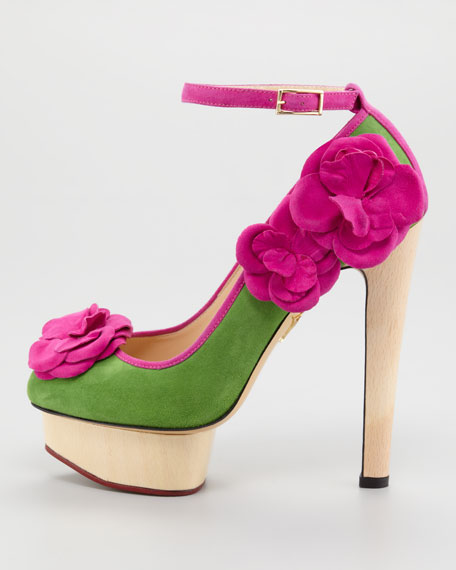 Flora Ankle-Strap Pump