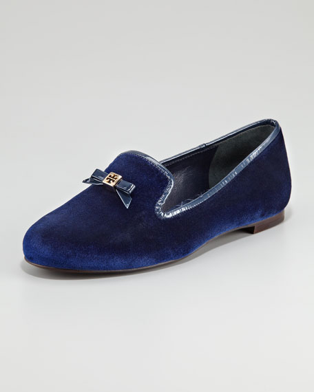 Chandra Velvet Smoking Slipper