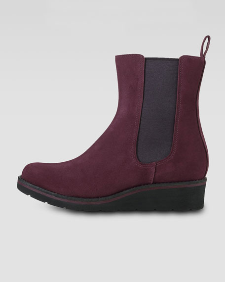 Johanna Gored Waterproof Suede Boot