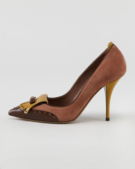 Joan Tassel-Toe Pump