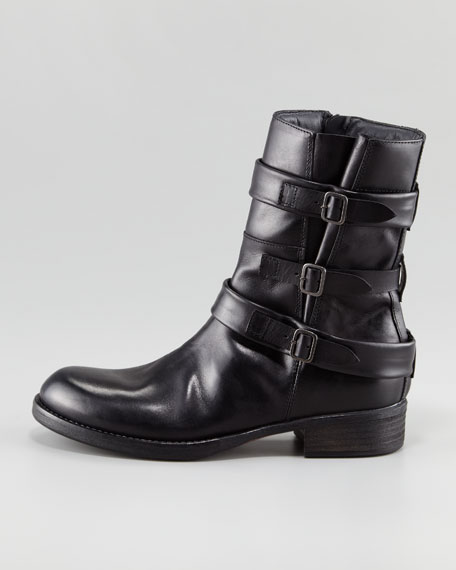 Triple-Buckle Boot
