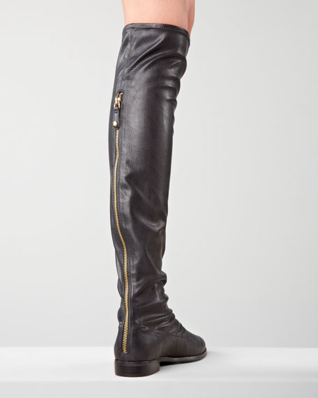 Romina Over-the-Knee Boot, Black