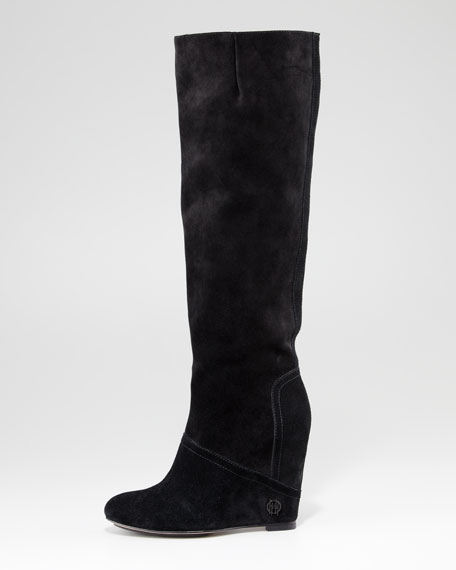Simona Wedge Boot