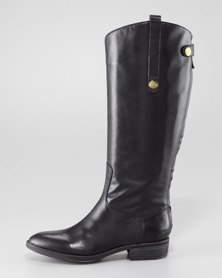 Penny Basto Crust Boot, Black