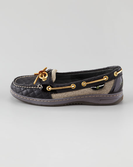 Angelfish Quilted Leather Slip-On