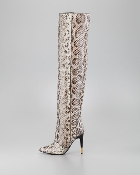 Over-the-knee Anaconda Boot
