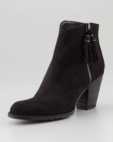 Prancing Nubuck Ankle Boot