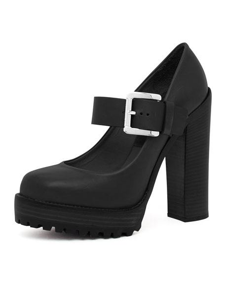 Chunky-Heel Mary Jane