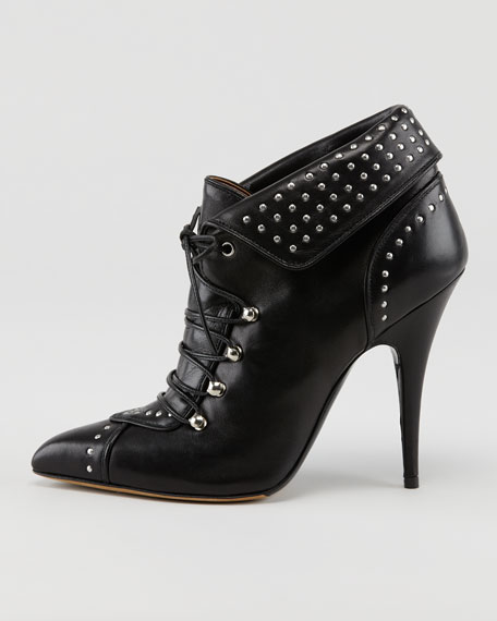 Wicked Napa Leather Motorcycle Bootie
