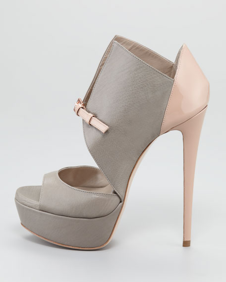 Monti Buckle-Front Bootie
