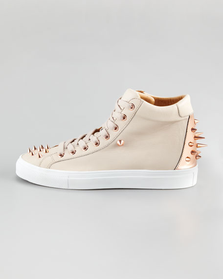 Jay Spiked High-Top Sneaker