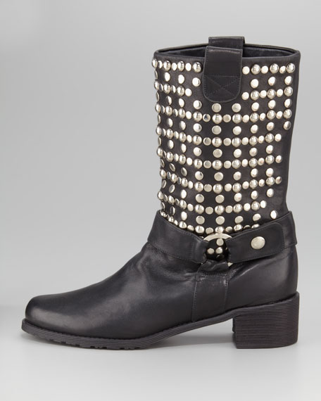 Moto Studded Boot
