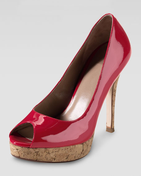 Mariela Air Peep-Toe Pump