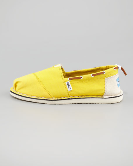 Bimini Boat Shoe, Yellow