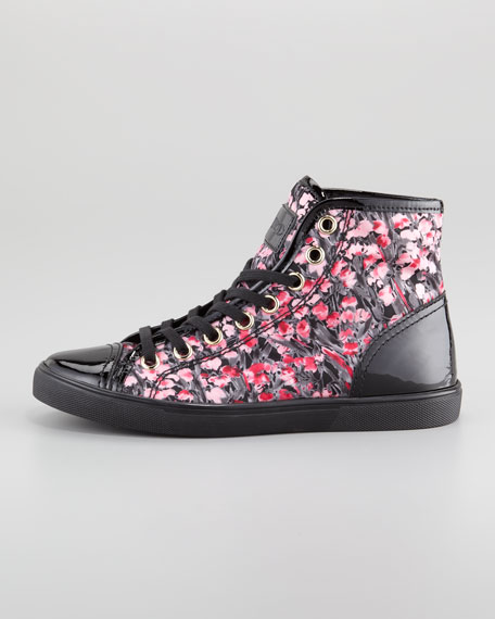 Lily of the Valley Hi-Top Sneaker