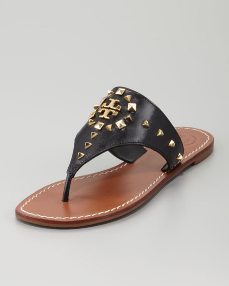 Dale Studded Thong Sandal