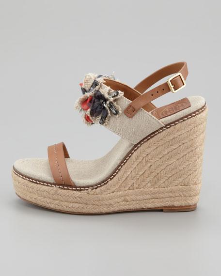 Mallory Lin Espadrille Wedge Sandal