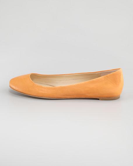 Lara Ballerina Flat, Tangerine