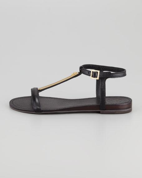 Pacey Thong Flat Sandal, Black