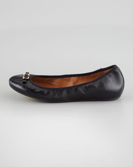 Bion Napa Ballerina Flat, Black