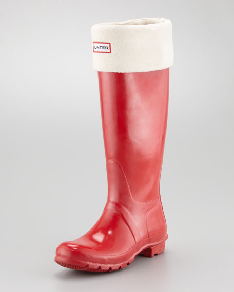 Tall Original Welly Boot, Pillbox Red