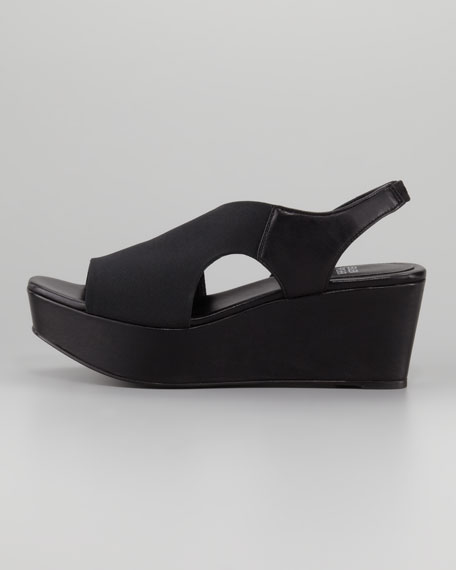 Stretch Slingback Wedge