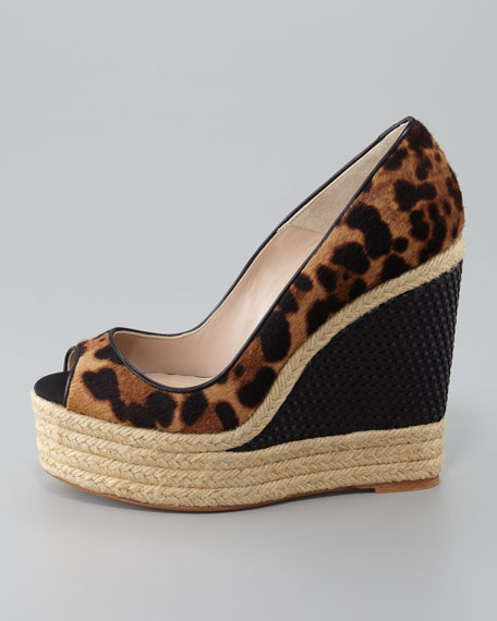 Cailey Luxor Espadrille Wedge Pump
