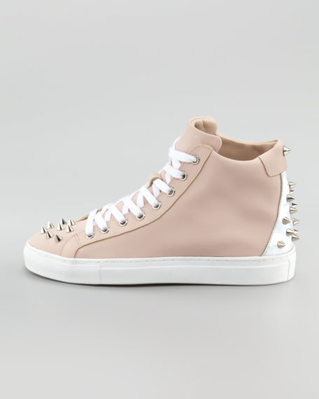 Jay Studded High-Top Sneaker
