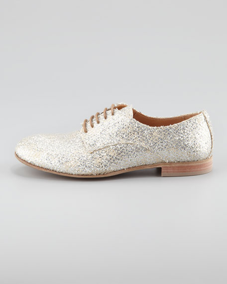 Replica Style Metallic Oxford