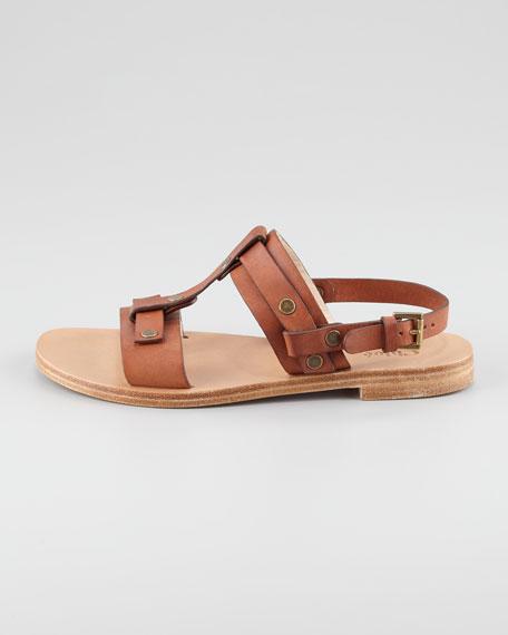 Open-Toe Slingback Sandal