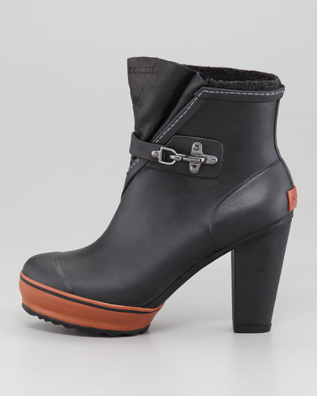 Medina High-Heel Rain Boot