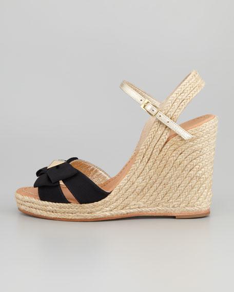 1e4aafb2bb0f kate spade new york carmelita bow espadrille wedge sandal. carmelita bow  espadrille wedge sandal. carmelita bow espadrille wedge sandal