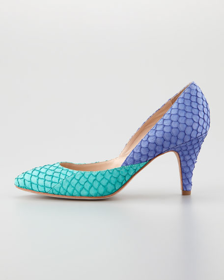 Tamsin Fish Colorblock Pump
