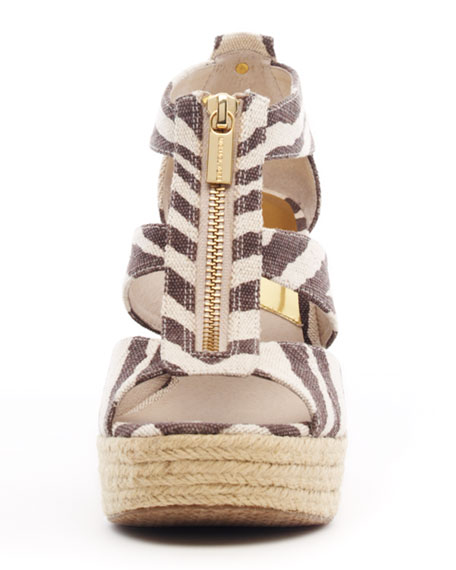 Damita Canvas Zip Sandal
