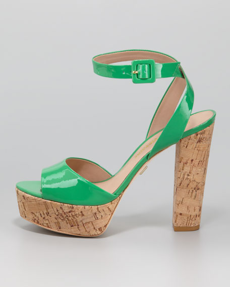 Nasha Sandal, Kelly Green