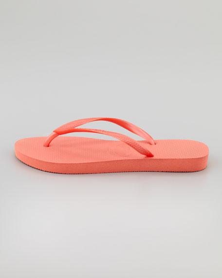 Slim Flip-Flop, Salmon