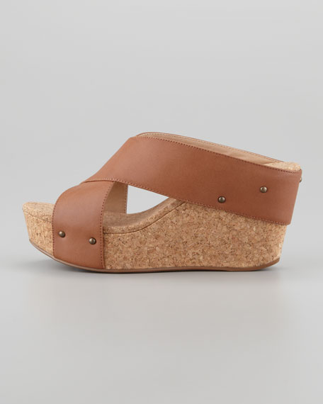 Gravity Crisscross Cork Wedge