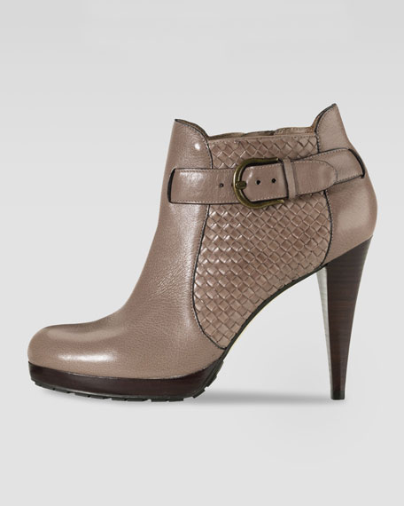 Air Kennedy Woven Ankle Boot, Maple Sugar