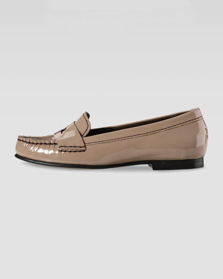 Air Sloane Patent Moccasin, Cafe Au Lait