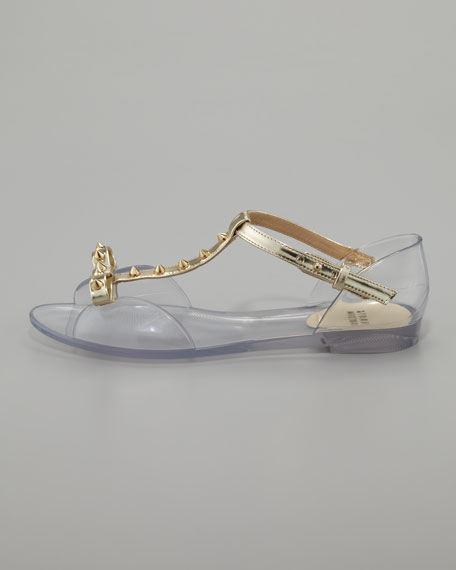 Nifty Jelly Flat Sandal
