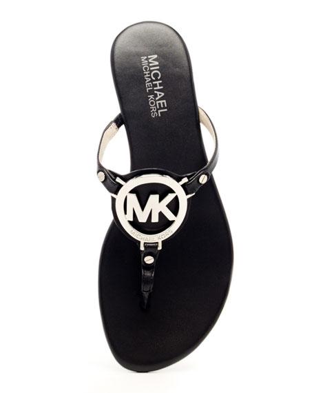 Melodie Logo Thong Sandal