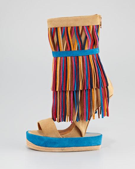 Ottawa Suede Platform Sandal